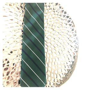 Polo Ralph Lauren 100% Silk Tie - Blue/Green/White